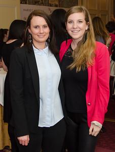 Jill Huges and Katie Baur