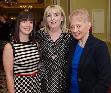 Naomi Frew, Imelda Wall and Pauline Dolan