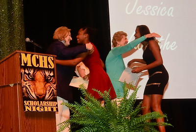 MCHS Scholarship Night 2014