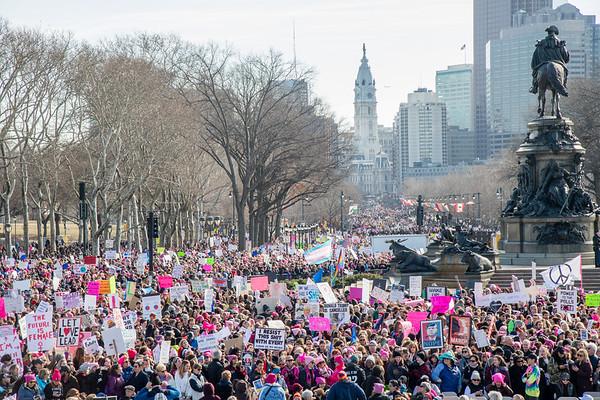 Woman's March  (Philadelphia) 2018