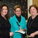 Women 4 Women Board Chairperson Tawana Edwards with Ann Shake and Amy Berge.