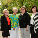 The Women 4 Women Grants Committee: Leigh Pittman, Vicky Weber, Amy Berge and Misty Cruse.