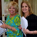 Vicky Weber and Karen Busse.