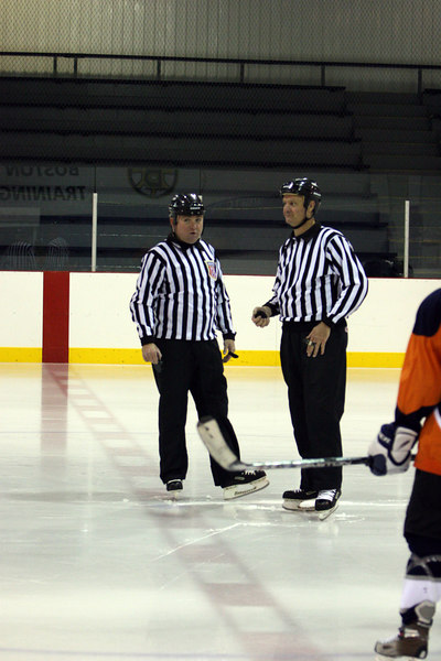 They were discussing the 20 minute single period games..