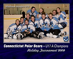 U16's Capture the Polar Bears U 17A Championship<br /> <br /> Flames 4-1<br /> New Jersey Selects 4-0<br /> RI Panthers 3-1<br /> Team Alaska 2-2<br /> Woonsocket North Stars 1-0<br /> South Shore Lady Hawks 4-2<br /> Ohio Phantom Flames 2-1 in Overtime