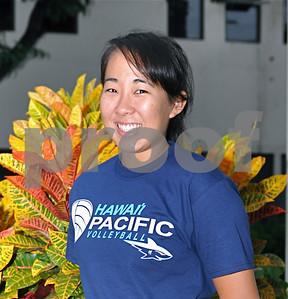 08-12-09 HPU 2009 Women Volleyball Team Photos