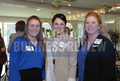 Ashlee Lansing, Melissa Carter and Kelly Wilkinson from the Radisson Hotel