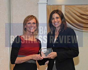 Publisher Carolyn Jones and honoree Danielle Merfeld, Global Technology Director, GE Global Research.