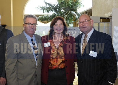 Carl Florio, Nancy McMahon and William Zeronda from AAA Hudson Valley