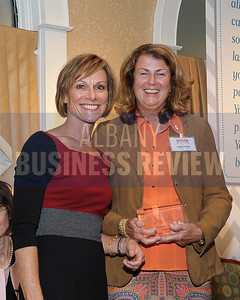 Publisher Carolyn Jones and honoree Lisa Henderson, president of Duncan & Cahill