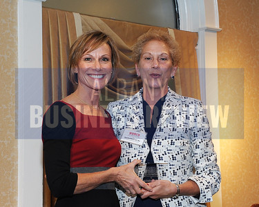 Publisher Carolyn Jones and honoree Dr. Ann Errichetti, president and CEO of St. Peter's Hospital and Albany Memorial Hospital.