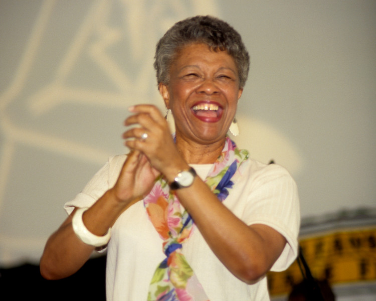 Germaine Bazzle performing in the Jazz Tent at the New Orleans Jazz & Heritage Festival on May 3, 1998.