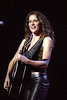 Emily Robison performing with the Dixie Chicks at the Oakland Coliseum on Movember 26, 2000.