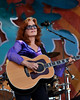 Bonnie Raitt performing at the New Orleans Jazz & Heritage Festival on May 1, 2009.