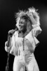 Tina Turner performs at the Oakland Coliseum on October 3, 1985, during the Private Dancer tour.