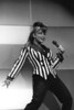 Paula Abdul performing live at the Oakland Coliseum on December 13, 1991.