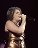 Natalie Maines performing with the Dixie Chicks at the Oakland Coliseum on November 26, 2000.