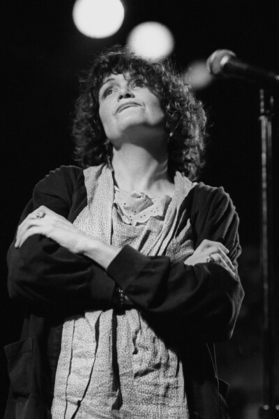 Exene Cervenka performing live with the Knitters at the Berkeley Square on February 21, 1986.