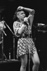 Annabelle performs with Bow Wow Wow at the Kabuki Theater in San Francisco on June 8, 1982
