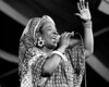 Rita Marley performs at the New Orleans Jazz & Heritage Festival on May 3, 1997.