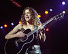 Emily Robison performing with the Dixie Chicks at the Oakland Coliseum on November 26, 2000.