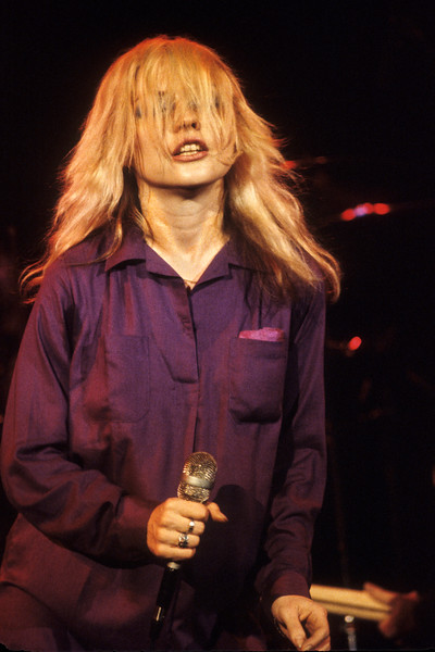 Debbie Harry and Blondie perform at Winterland in San Francisco on November 18, 1978.