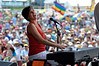 Marcia Ball performing live at the New Orleans Jazz & Heritage Festival on May 1, 2009.