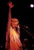 Stevie Nicks performing at the Oakland Coliseum on December 3, 1981.