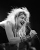 Cyndi Lauper performing at Kaiser Auditorium in Oakland on January 30, 1987.