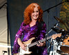 Bonnie Raitt performs at the New Orleans Jazz & Heritage Festival on April 29, 2007.