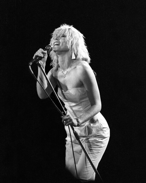 Blondie performs in Oakland in 1980. Rockpile opened the show.