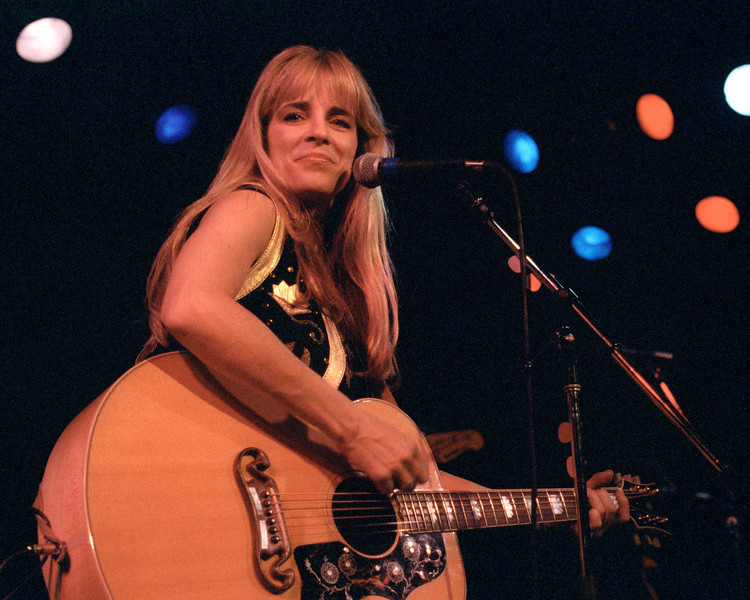 Carlene Carter performing at Slim's in San Francisco  on January 26, 1991.
