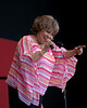 Mavis Staples performs at the 2005 Monterey Jazz Festival on 9-17-05.