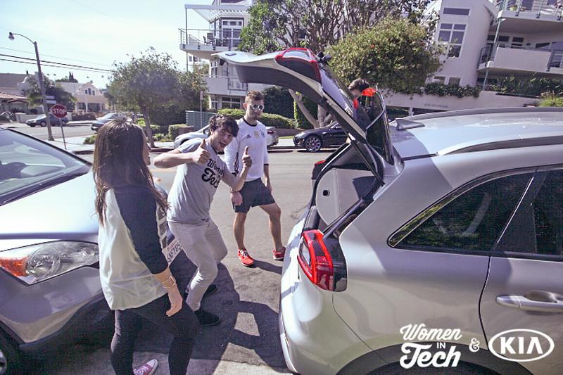 #WomeninTech Road Trip | Kia Niro Unveiling