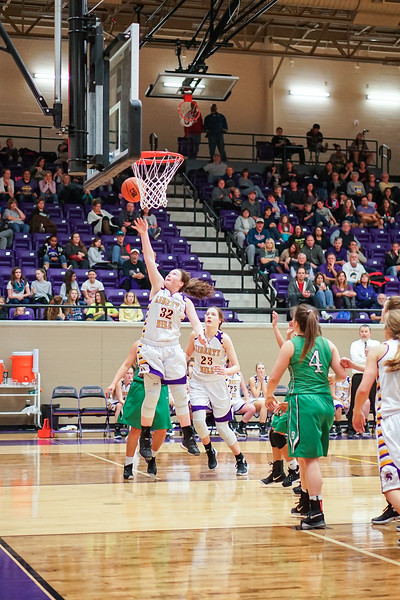 2016-01-22 - LH Lady Panthers Varsity Basketball vs Burnet