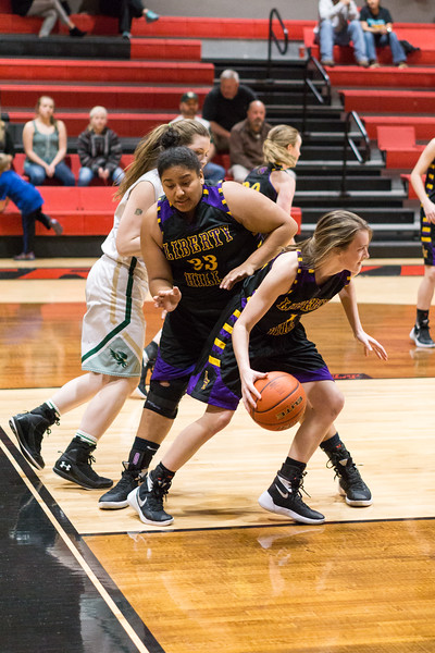 2016-02-16 - Lady Panther Basketball vs Canyon Lake