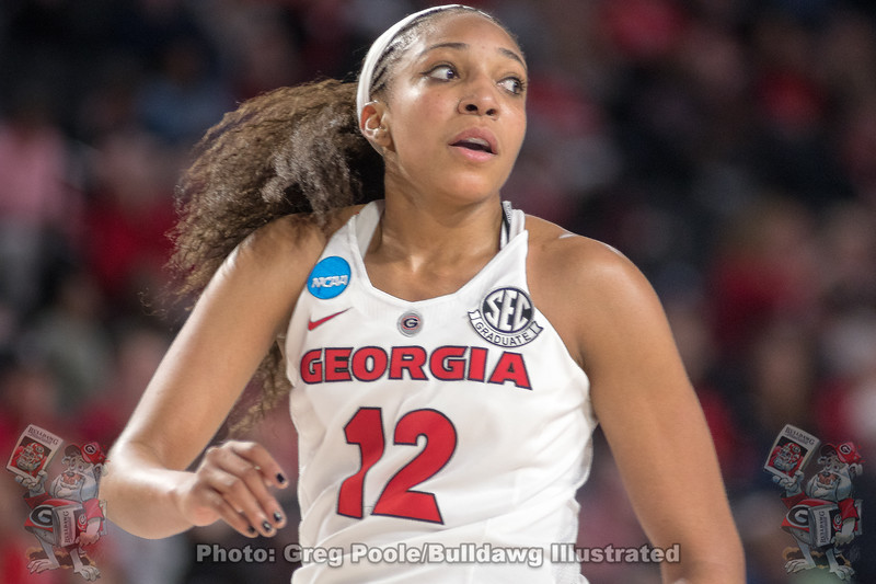 Haley Clark - 2018 NCAA Women's Tourney - Georgia vs. Duke