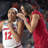 Haley Clark  and Joni Taylor – 2018 NCAA women's basketball tournament, round one – March 17, 2018