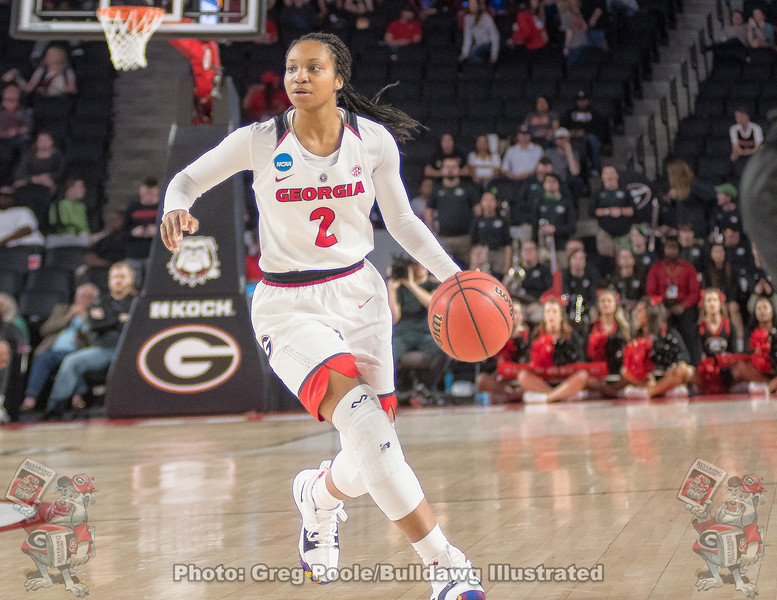 Gabby Connally – 2018 NCAA women's basketball tournament, round one – March 17, 2018
