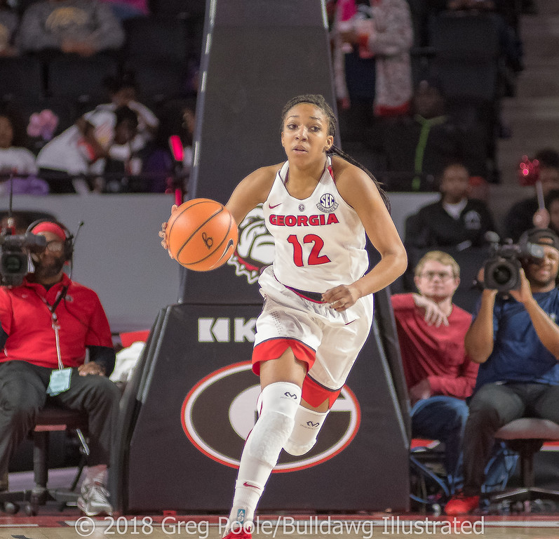 Haley Clark - Georgia vs. Florida – February 25, 2018