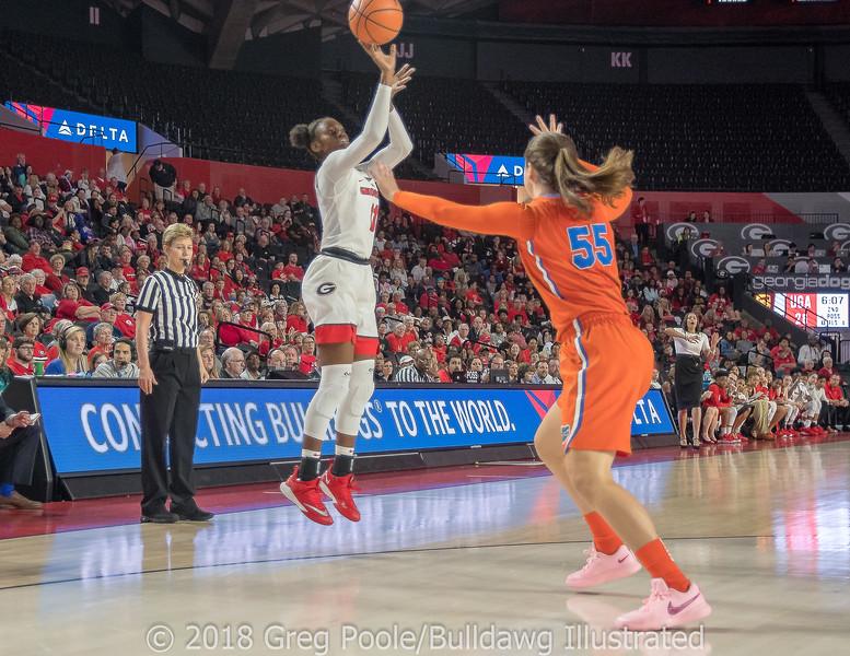 Maya Caldwell– Senior Day – Georgia vs. Florida – February 25, 2018