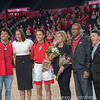 Mackenzie Engram and family with Joni Taylor and Greg McGarity– Senior Day – Georgia vs. Florida – February 25, 2018