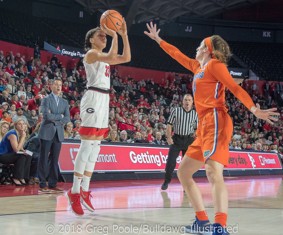 Mackenzie Engram– Senior Day – Georgia vs. Florida – February 25, 2018