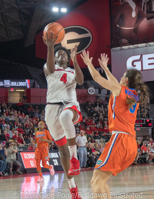 Caliya Robinson - Georgia vs. Florida – February 25, 2018
