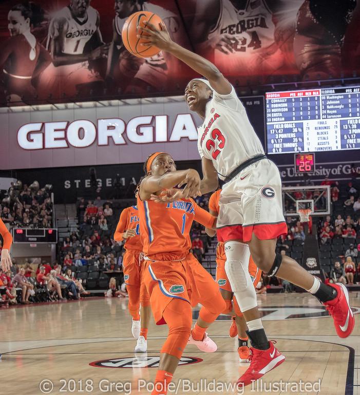 Que Morrison - Georgia vs. Florida – February 25, 2018