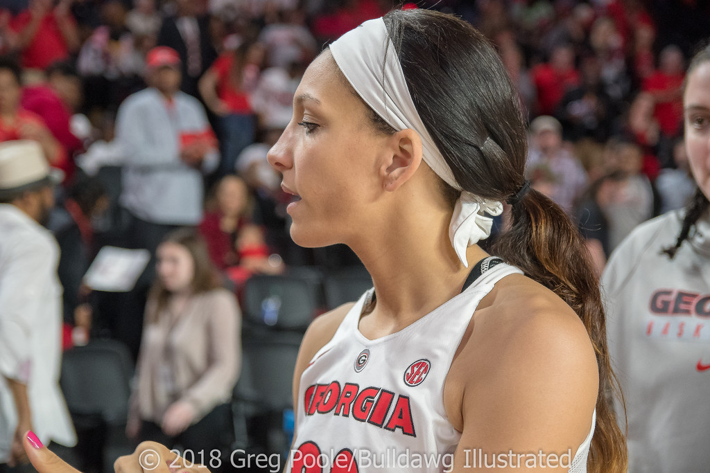 Mackenzie Engram - Georgia vs. Florida – February 25, 2018
