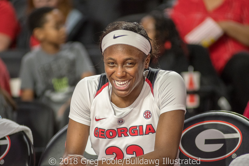 Que Morrison - Georgia vs. Florida – February 25, 2018