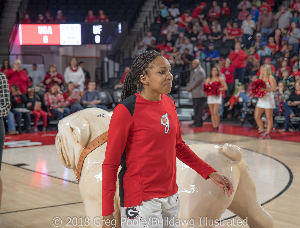 Haley Clark– Senior Day – Georgia vs. Florida – February 25, 2018