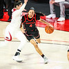 Georgia guard Mikayla Coombs (4) during a game against Arkansas at Stegeman Coliseum in Athens, Ga., on Monday, January 25, 2021. (Photo by Tony Walsh)
