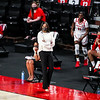 Georgia head coach Joni Taylor during a game against Florida at Stegeman Coliseum in Athens, Ga., on Sunday, Jan. 10, 2021. (Photo by Tony Walsh)
